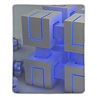 デザインマウスパッド 抗菌 キューブ抽象