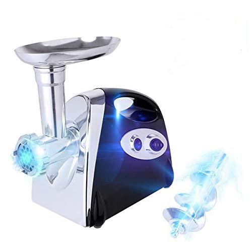Electric Meat Grinder Stainless Steel Meat Mincer Enema...