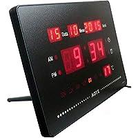 Reloj Digital LED Multifuncional de Pared o Escritorio–Idea Regalo
