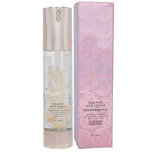 Suero para el cuidado de la piel con extracto de rosa, suero nutritivo reparador hidratante de la piel de extracto vegetal, 50 ml