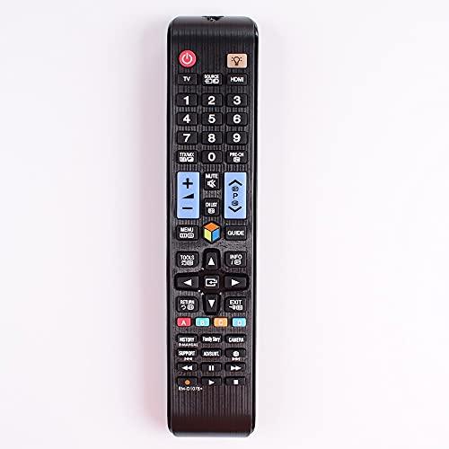 Mando a distancia para Samsung TV AA59-00581A AA59-00582A AA59-00594A 01198Q 01198C AA59-00638A (Color: Negro)