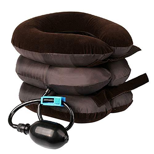 JKABNSDF Air Cervical Neck Traction Gerät Kopfschmerzen Schulterschmerzen Relax Soft Brace Gerät Stützkissen Rücken Schulter Schmerzlinderung
