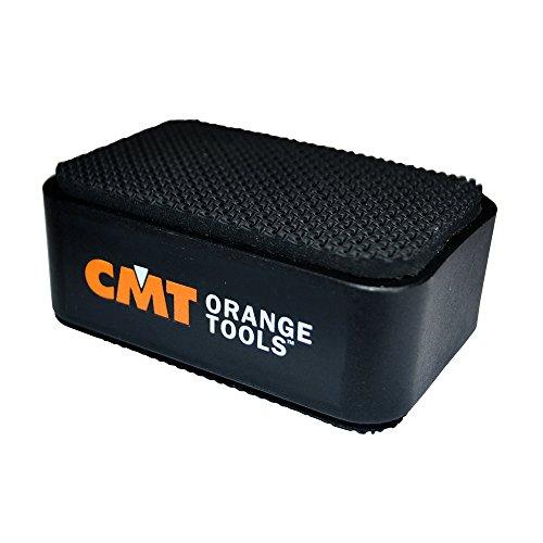 CMT BBS-001 Set di Supporti per Piano di Lavoro 75 x 50 x 25 mm, Nero, Set di 4 Pezzi