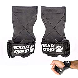 ☆Now comes two Sizes☆ Comfortably Eliminates Grip Fatigue & Failure during heavy lifts. Amazing for exercises such as deadlifts, pulling movements and can be used for push movements too. ☆ Comfortable neoprene wrist support so no added tension on the...