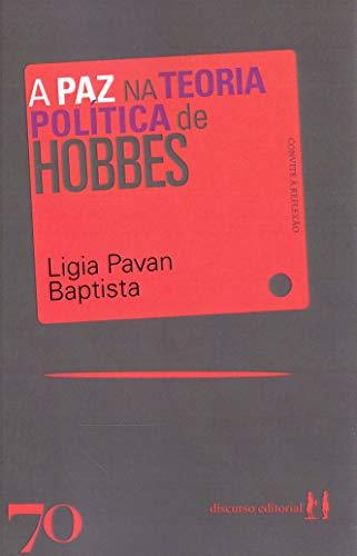 A paz na Teoria Política de Hobbes