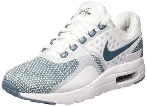 Nike Air Max Zero Essential, Scarpe da Ginnastica Uomo, Blu (Smokey Blue/Smokey Blue/White/Obsidian), 42.5 EU