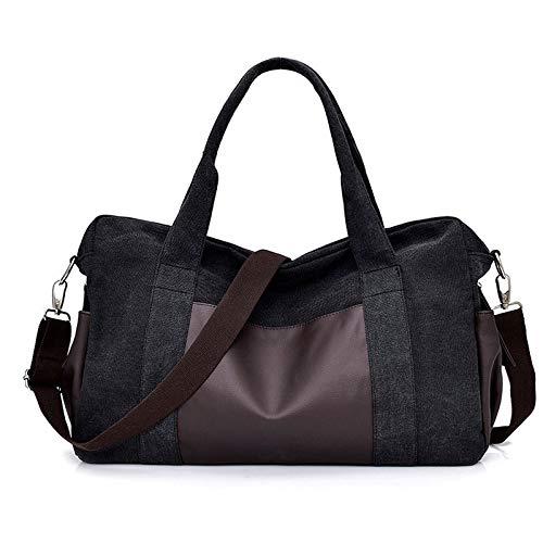 EIN-Schulter-Handtasche Oxford Stoff Reisen einfache Freizeit große Kapazität verdickte verschleißfeste Segeltuchtasche