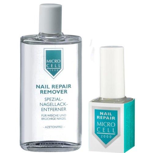Micro Cell 2000 Nail Beauty Kit (12 ml Nail Repair und 50 ml Remover)
