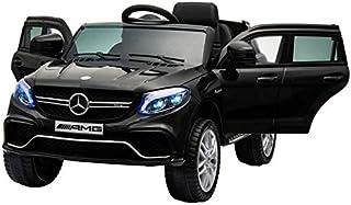 期間限定!組立完成車サービス!乗用ラジコン 新型 BENZ GLE63S AMG ベンツ 品 ペダルとプロポで操作可能 電動ラジコンカー 乗用玩具 ラジコンカー 電動乗用玩具 [TR1701RC] (ブラック)