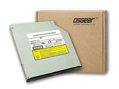 OSGEAR- Internal 12.7mm slim SATA 8x DVDRW CD DVD RW Rom Burner Writer Laptop PC Mac Tray Loading Optical Drive Device
