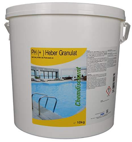 10kg pH (plus +) Heber Granulat (fest, Pulver) im Eimer, versandkostenfrei!