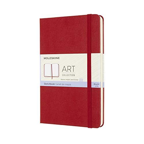 Moleskine, Cuaderno de Dibujo, Papel Apto para Lápices, Pas