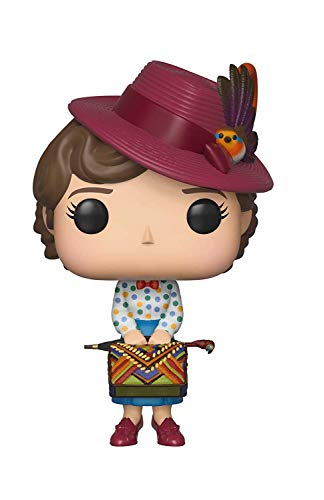 Funko Mary Poppins - Pop Mary with BAB, Multicolor, Talla Única