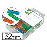 Q-Connect 39393Alicate Mini ropa 32m m–Juego...