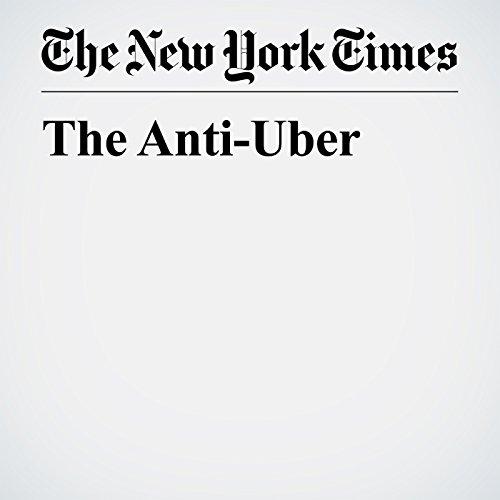 The Anti-Uber audiobook cover art