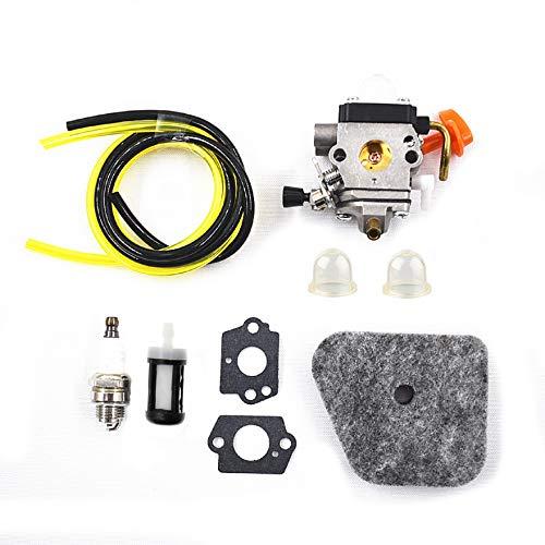 AISENPARTS Kit de Ajuste de carburador con Filtro de Aire y Combustible Reemplazo para la mayoría de los Modelos de Motores recortadores de 4 Mezclas STIHL
