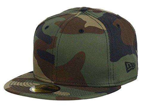 New era 59fifty Basecap Blank Camouflage 7 14 58cm