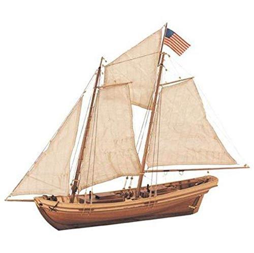 Artesanía Latina 22110N. Maqueta de barco en madera Swift 1