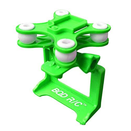 DronePost Soporte cámara SYMA X8 X8C X8W X8G X8H Gimbal Cardán Estático Cámaras SJ GoPro Xiaoyi (All_30|Verde)