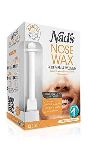 6 x Kit de cera para nariz, 45 g de Nad