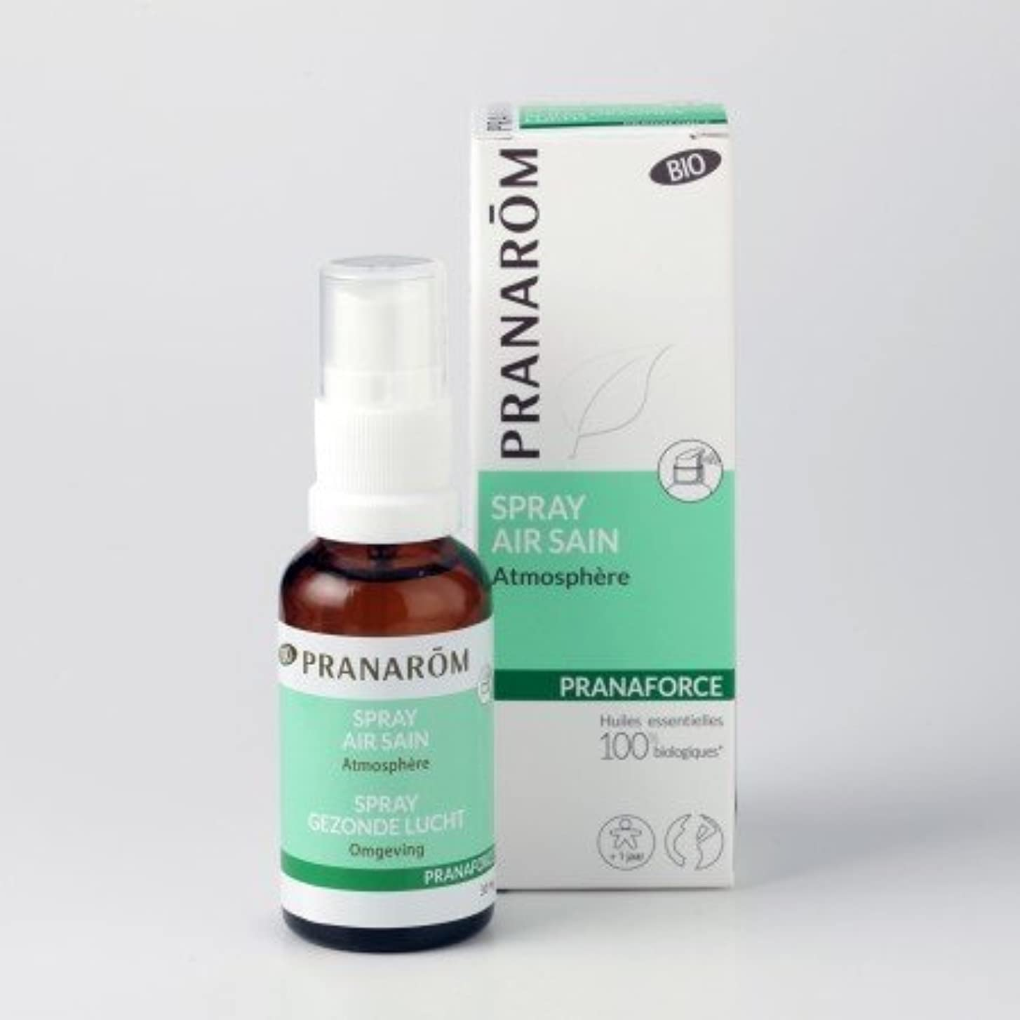 ビクターご近所限りプラナロム (PRANAROM) ルームコロン プラナフォース?スプレー 30ml 02601 エアフレッシュナー (芳香剤)