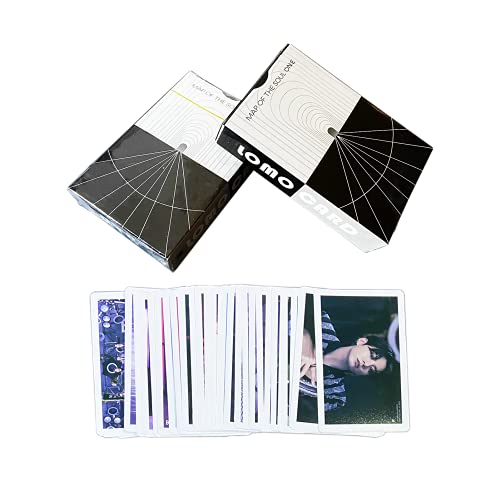 Bangtan Boys Album Map of the Soul One Cards Set Lomo Cards Merchandise with Box Deal For Army Girls Daughters