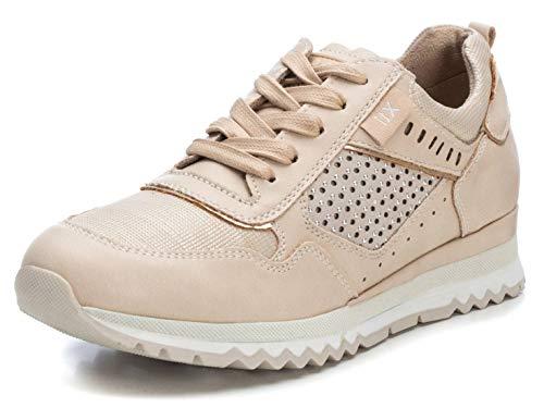 XTI 49797.0, Zapatillas Mujer, Beige (Beige Beige), 36 EU