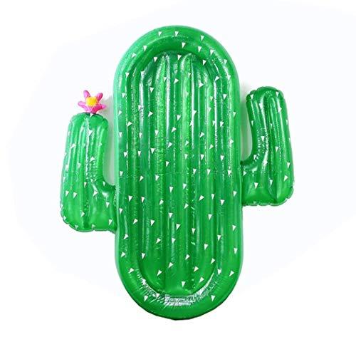 185cm aufblasbares Pool Float Matratze Spielzeug Wassermelone Ananas Cactus Beach-Schwimmen-Ring-Frucht Floatie Luftmatratze, Ananas LOLDF1 (Color : Cactus)