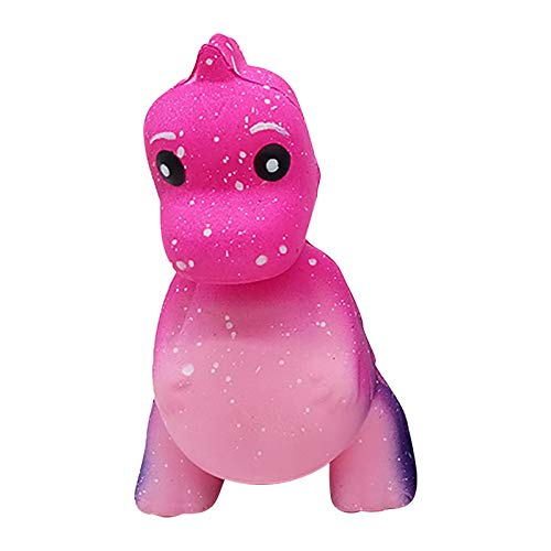 Squishy Galaxy Dinosaur Cute Jumbo Squishy - Scented Cream Super Slow Rising Squeeze Toys for Kids and Adults - Anti-Stress Fidget Toy for ADD ADHD Anxiety Autism