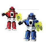 HLH 2 unids/Set RC Battle Robot y 2 Jugadores Modo PK/Control Remoto RC vs Robot de Lucha Robot Robot Juguetes para niños Hombres Boxeo Fight (Color : 2pcs)