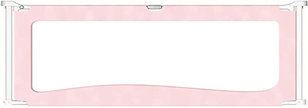 Bedside or Bedside Flap, No supporting foot, Must be Used with the Bed Guardrail Pink (60 cm Tall) (Size : 150cm)