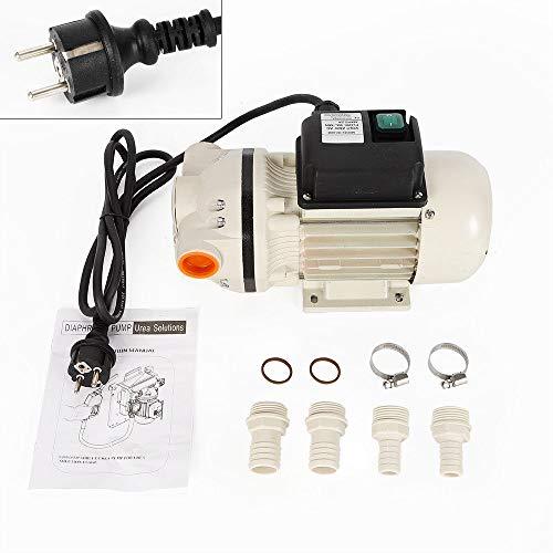 34L/Min Ad-Blue Pumpe Fasspumpe Selbstansaugend Pumpe Adblue-Pumpenset Urea-Pumpe Harnstoff-Pumpe 230V - 0,4Kw (50Hz) 4 Tüllen und 2 Schellen