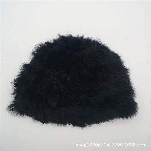 Honkbalcap mini persoonlijkheid de wol konijn herfst winter wollen muts handgebreide konijnenmuts voor volwassenen warm haar voor mannen en vrouwen