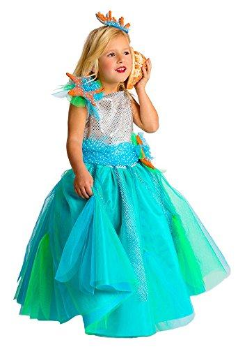 Disfraz de Princesa del Mar para niñas