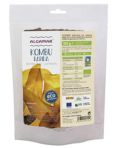 ALGAMAR Alga RAPIDA Kombu Real 100gr, No aplicable