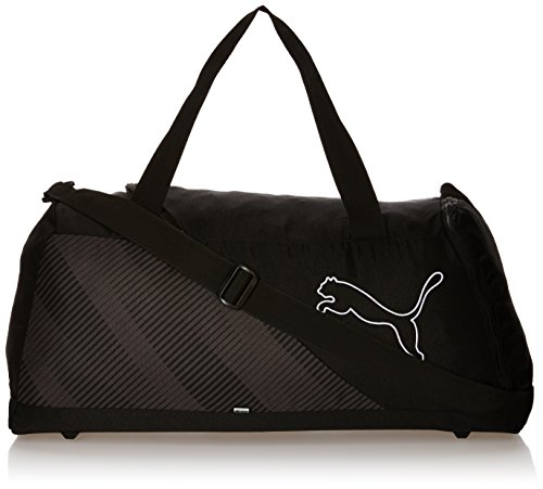 PUMA borsa sportiva Echo Sports Bag, PUMA Black, 22,3 x 11,6 x 27 cm, 36 litri, 074108 01