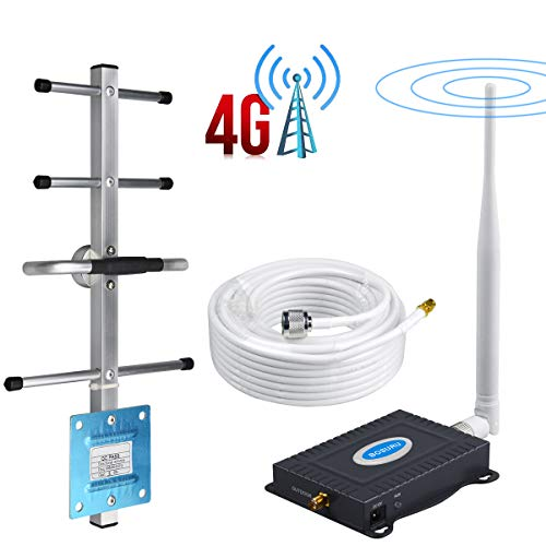 Cell Phone Signal Booster Verizon 4G LTE Band 13 700Mhz Verizon Cell Signal Booster Verizon Cell Phone Signal Amplifier Cell Repeater Home Use Mobile Signal Booster Improve Voice+Data with Antenna Kit