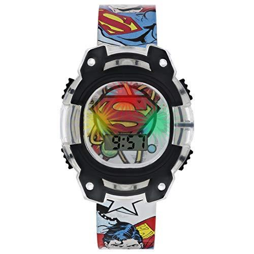 Superman Reloj Niños de Digital con Correa en PU SUP4301