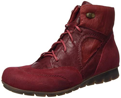 Think! Damen Menscha_585075 Desert Boots, Rot (Cherry/Kombi 74), 38 EU