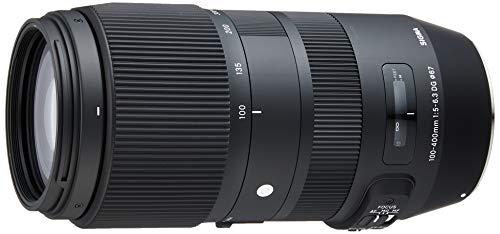 Sigma 100-400mm F5-6,3 DG OS HSM Contemporary Objektiv (67mm Filtergewinde) für Sigma Objektivbajonett