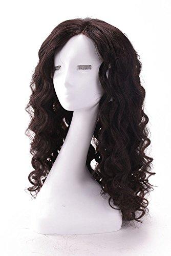 Noir naturel Body Wave Cheveux Vierges 100% humains complète/Avant Dentelle des Perruques 130% de densité 25,4 - 66 cm (W6 #)