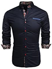 FRIENDSHIP PROMPT:Please check the measurement in figure 7 before taking the order. MENS CASUAL SHIRTS:Soft and comfortable material, 1 chest pocket.Print Patchwork, long sleeve, button down shirt GARMENT CARE:Hand-wash max 40°C,Drip line drying in t...