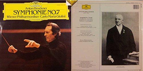 ANTON BRUCKNER Symphonie No.7 (LP/Vinile 33 giri) USATO BUONO