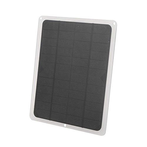 DONGYAO Cargador de batería portátil plegable de 5 W, 12 V, de carga solar, plegable, ligero, de alta tasa de conversión para teléfonos celulares, iPhone, iPad, Android para exteriores