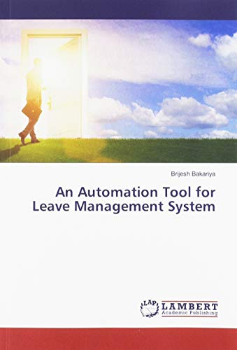 An Automation Tool for Leave Management System