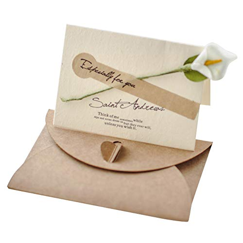 Lumierechat メッセージ カード メッセージカード ミニ プチ 一言メッセージ お礼 フラワー 席札 結婚式 テーブル 多目的 封筒 付き a-9106(30枚/ホワイト)