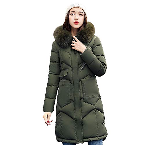 HOMEBABY Womens Down Puffa Jacket with Hood Women Ladies Winter Hooded Padded Coats Down Puffer Quilted Coat Jackets Bubble Coat Overcoat Women's Parka Size 10-20