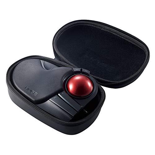 ELECOM BMA-HT1BK Hartschalen-Schutzhülle für ELECOM Trackball Maus M-HT1 Serie, Schwarz