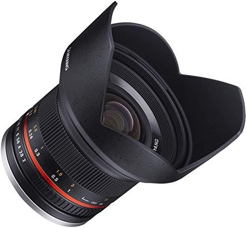 Samyang 12mm F2.0 Objektiv für Anschluss Sony E - schwarz