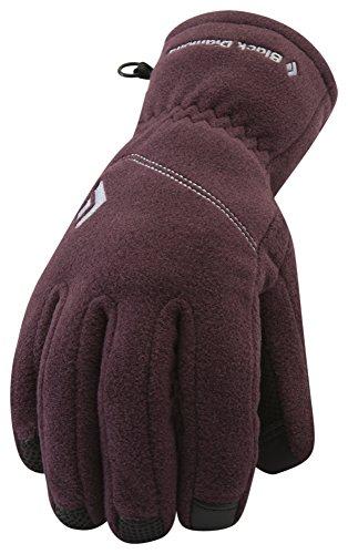Black Diamond Women's Wind Weight Glove Liners, Wine, Medium